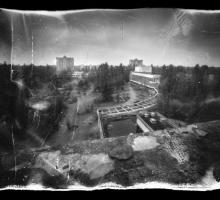 Первые в мире пинхол фотографии в Чернобыльской зоне отчуждения