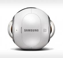 Анонс круглой камеры Samsung Gear 360