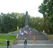 Могила Тараса Шевченко