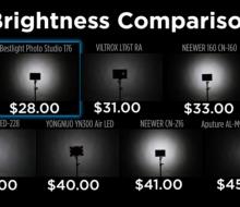 7 светодиодных фонарей для видео или фото ценой до 50 долларов