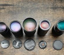 Тест на резкость шести зумов 70-210mm  на беззеркалке Sony A7