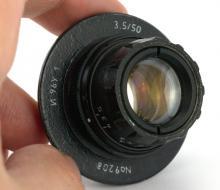 Объектив И96У-1 3,5/50. Тест и примеры фото