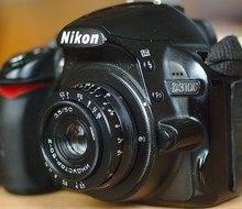 переделка Индустар-50-2 на Nikon