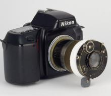 Установка объективов большого формата на цифровой фотоаппарат