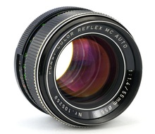Обзор Porst Color Reflex MC Auto 1:1.4/55mm  Ø 55 G