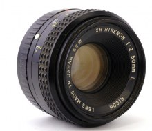 Обзор Ricoh XR RIKENON 1:2 50mm L
