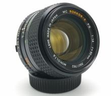 Объектив Minolta MC Rokkor-X PG 1:1.4 f=50mm