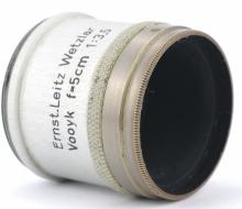 объектив Ernst Leitz Wetzlar Vooyk f=5cm 1:3.5