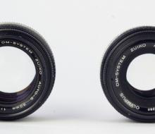 Olympus OM-System Zuiko 50 mm f/ 1.8 и OM-System Zuiko 50 mm f/ 1.4