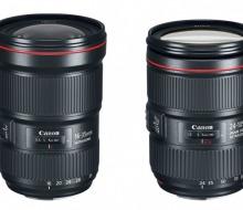 Canon: EF 16-35mm f/2.8L III USM и EF 24-105mm f/4L IS II USM