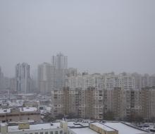 Заснежило в Киеве таймлапс