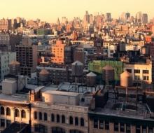 Манхэттен в движении таймлапс