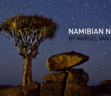 Намибийские ночи — таймлапс