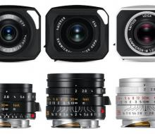 новые объективы Leica