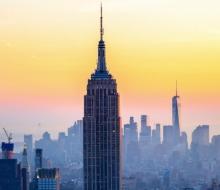 Цвета Нью-Йорка таймлапс