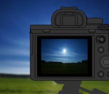 Sony создала градиентный фильтр Sky HDR