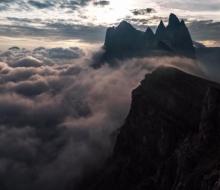 Timedrift II — таймлапс в альпах