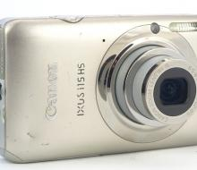 Фотоаппарат Canon IXUS 115 HS