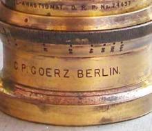 Серийные номера объективов Goerz. Годы производства, этапы развития