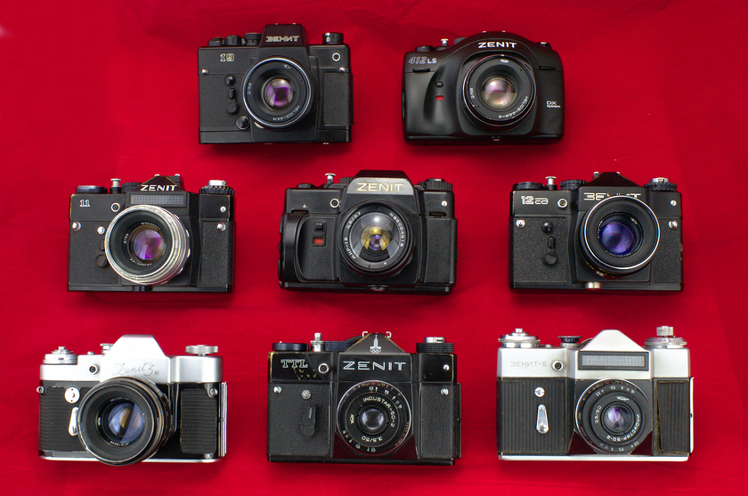 Фотоаппараты Зенит