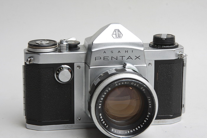 История фотокамер Pentax в картинках